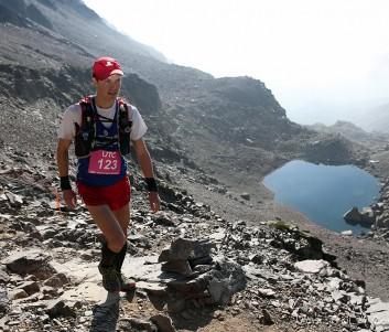 Der Aufstieg zum Monte Cinto führte Hendrik Spöring (hier auf 2.500 Metern) über viele Geröllfelder