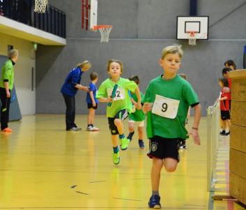 Julian Ziervogel in Führung beim Paarlauf der U10