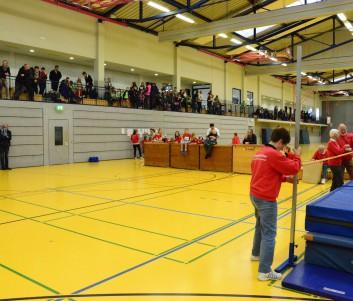 Zahlreiche Zuschauer säumten die Tribüne der WinArena Winsen.