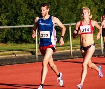 Tabea Themann vom SV Molbergen (314) siegte bei den Frauen in einer Zeit von 9:50,19min