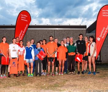 So sehen Sieger aus! Die Gesamtsieger der Laufserie auf einem Bild vereint.