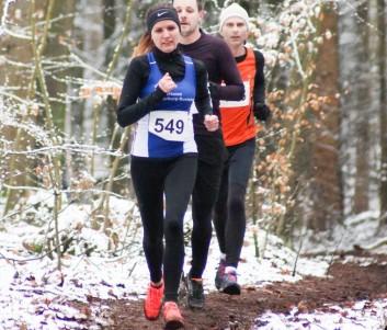 Justyna Kwiatkowska ließ alle anderen Frauen über 7200m hinter sich.
